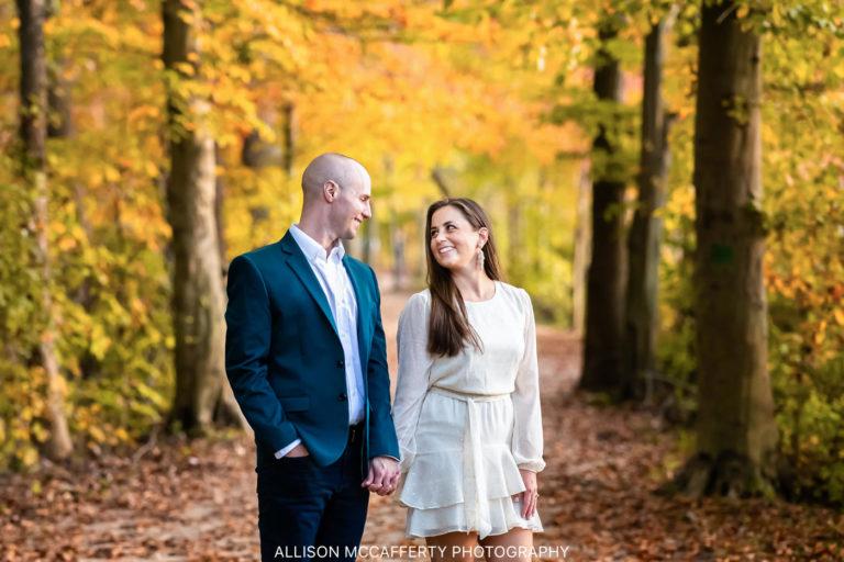 Kaitlyn & Justin | Smithville Mansion Engagement