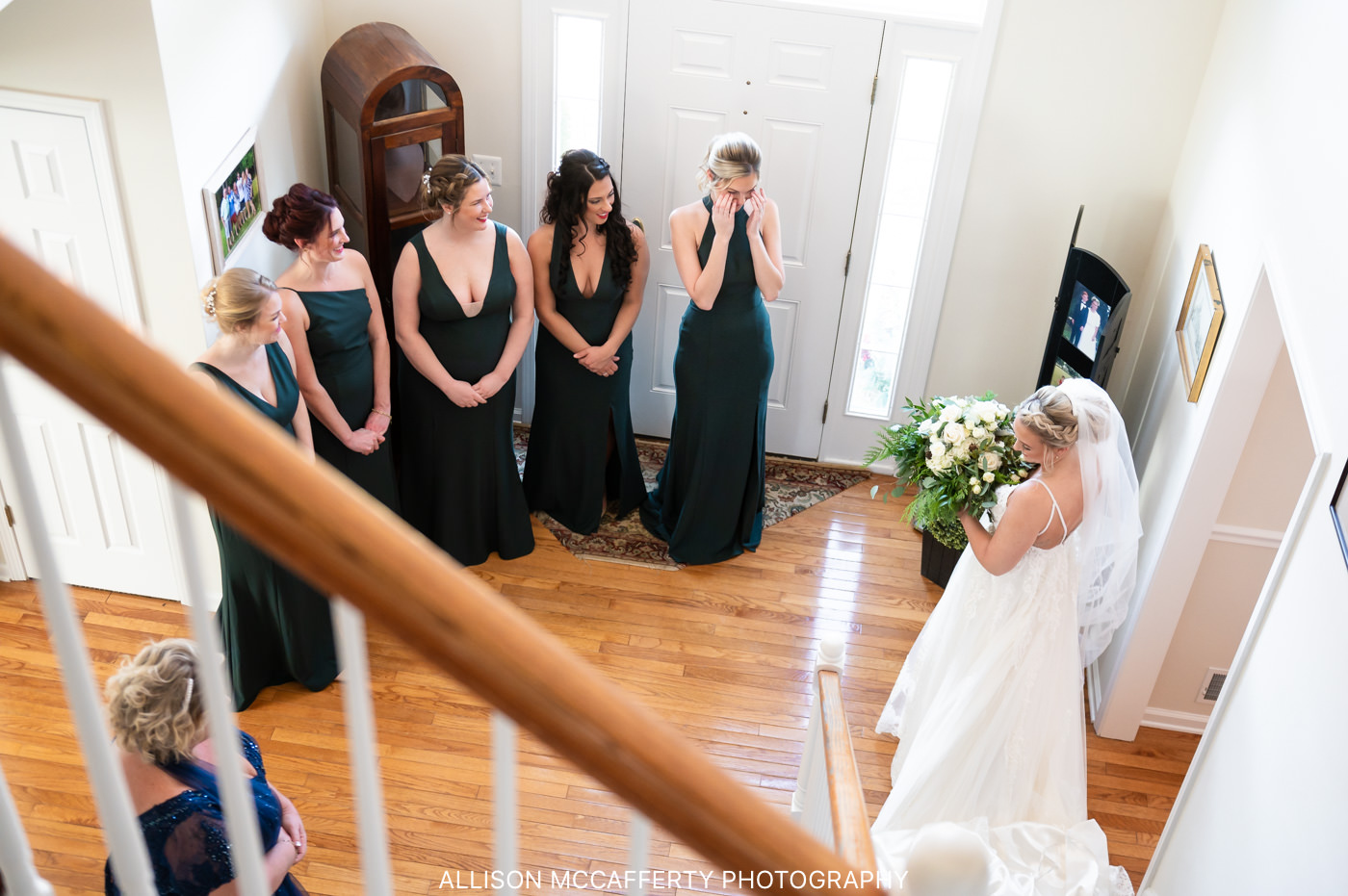 Hamilton Manor Wedding Photo