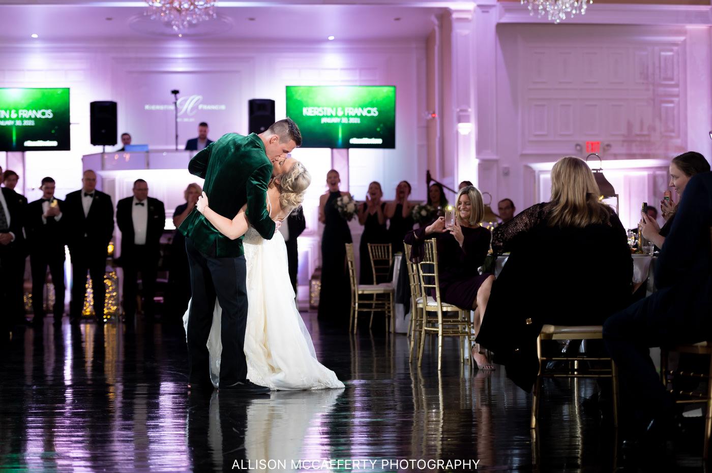 Hamilton Manor Wedding Reception Photos