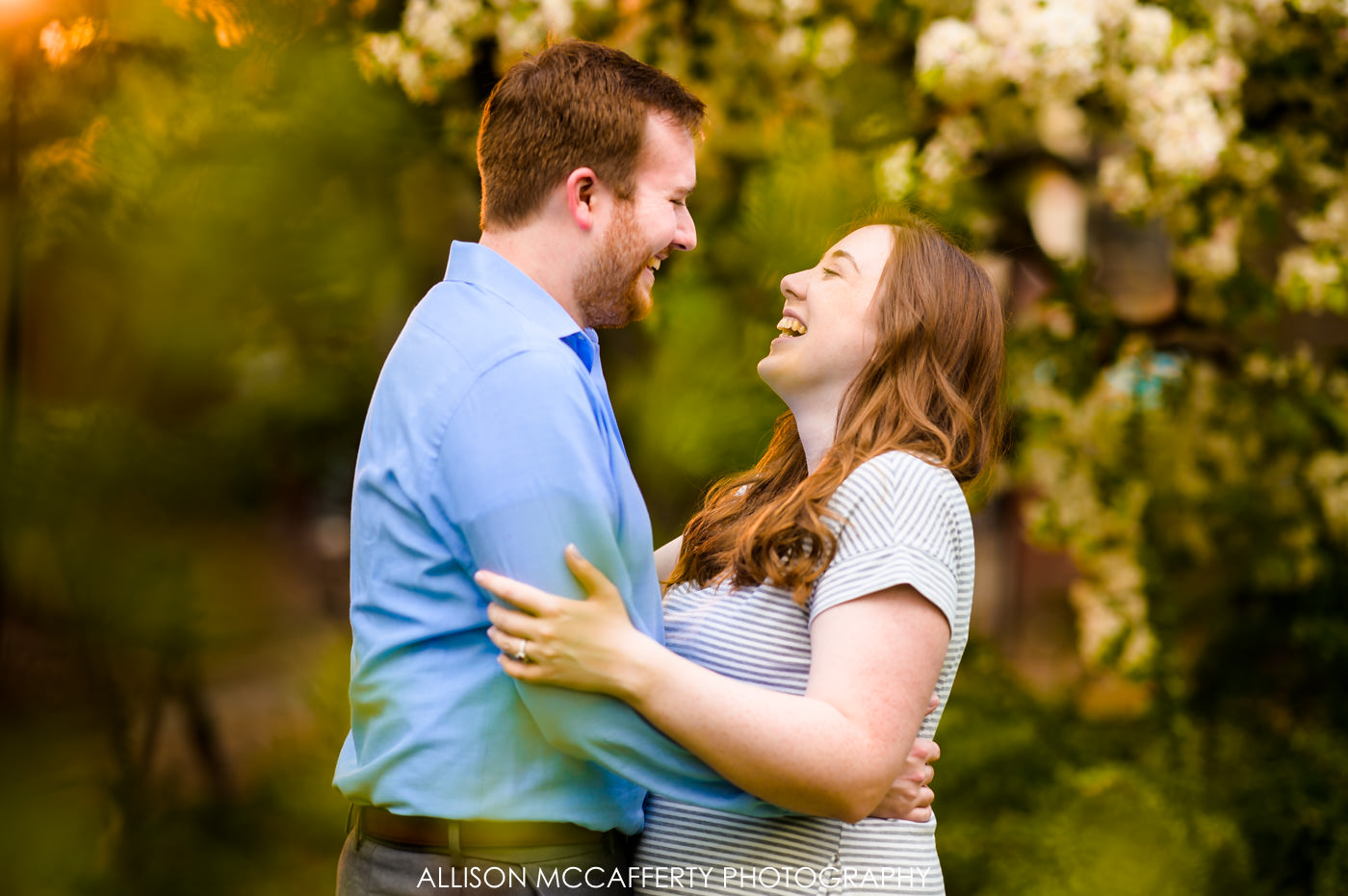Spring Engagement Photos in Philly