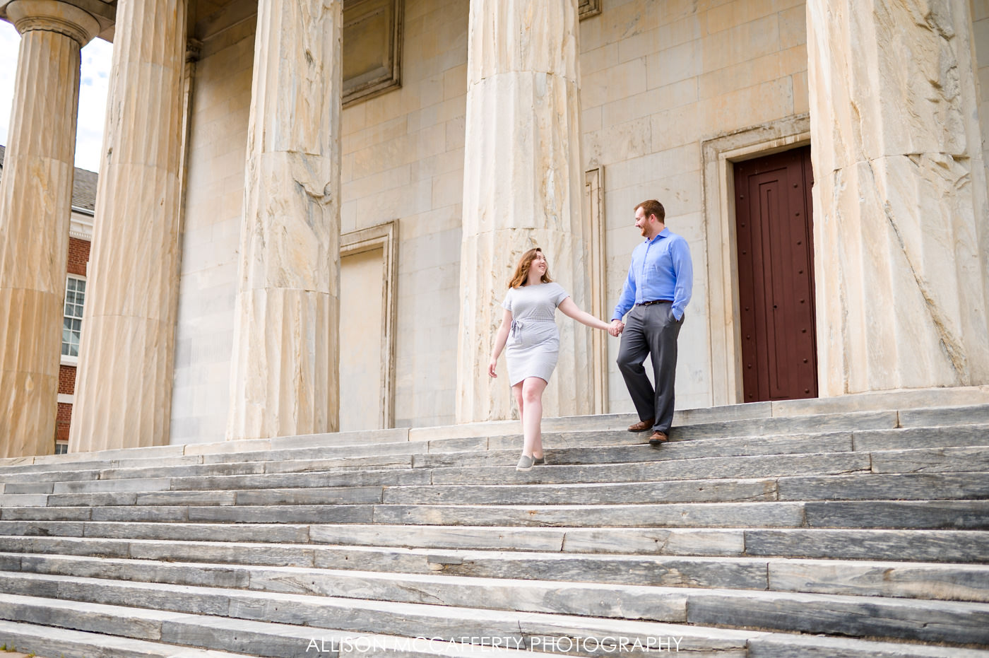 Second Bank of the United States Engagement Photos