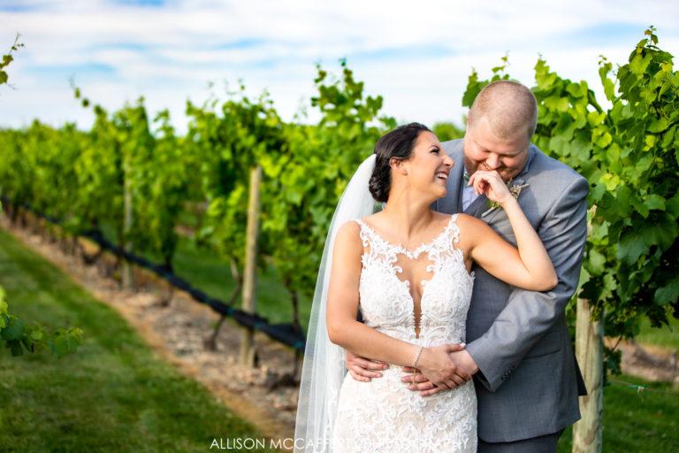Nicolette & Charlie | Tomasello Winery Wedding
