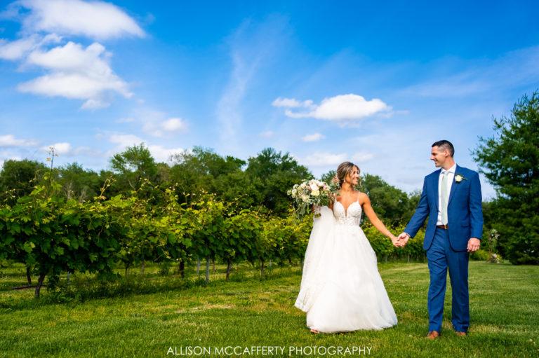 Krista & Dan | Valenzano Winery Wedding