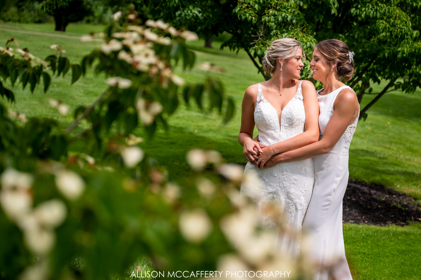 Two Brides Woodcrest Country Club