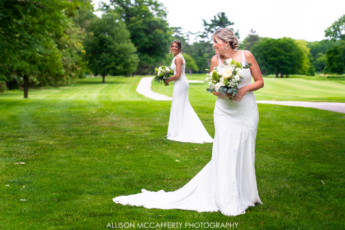 Woodcrest Country Club First Look Photo