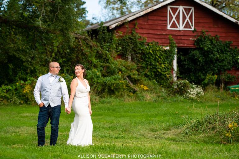 Laura & Erik   Backyard Bordentown Wedding